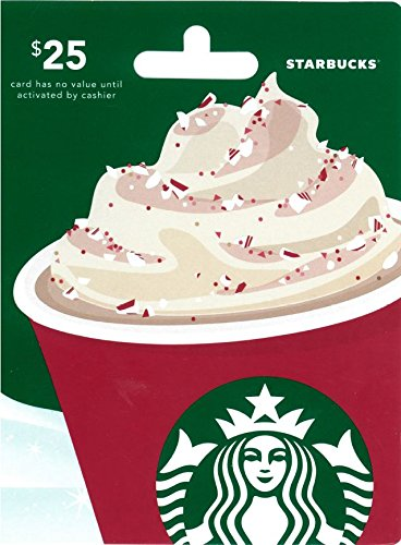Starbucks gift card tween holiday gift guide