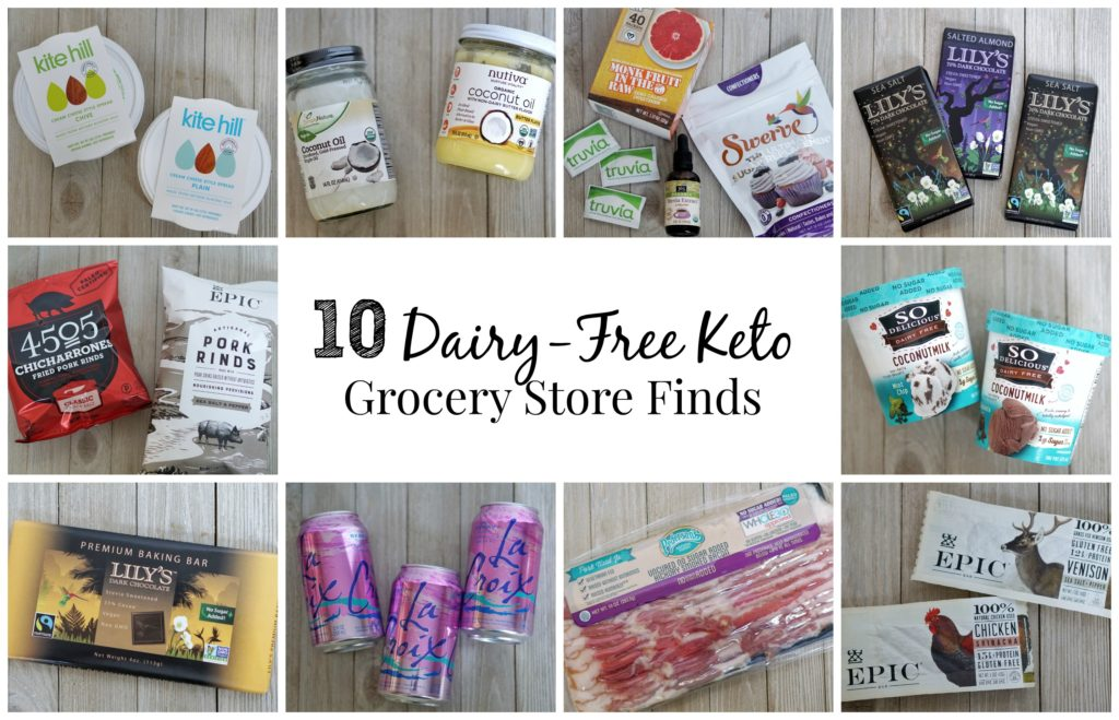 10 Dairy-free Keto foods