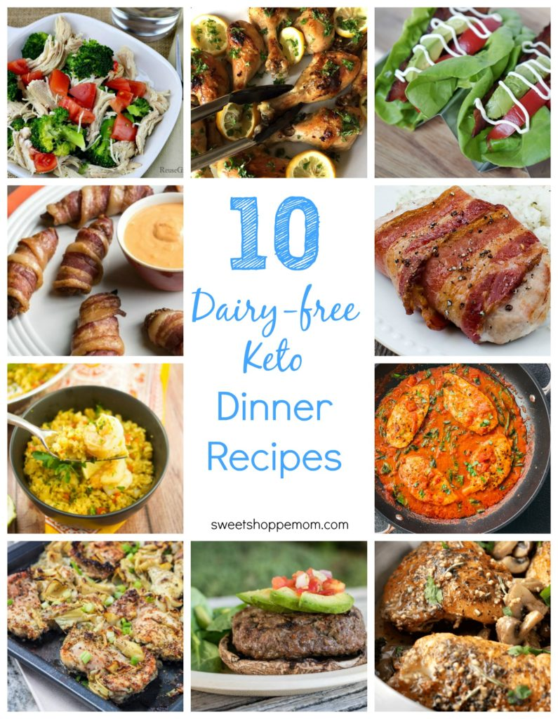10 dairy-free keto dinner recipes
