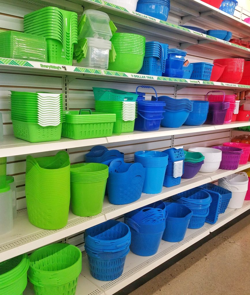 dollar store finds containers for organizing