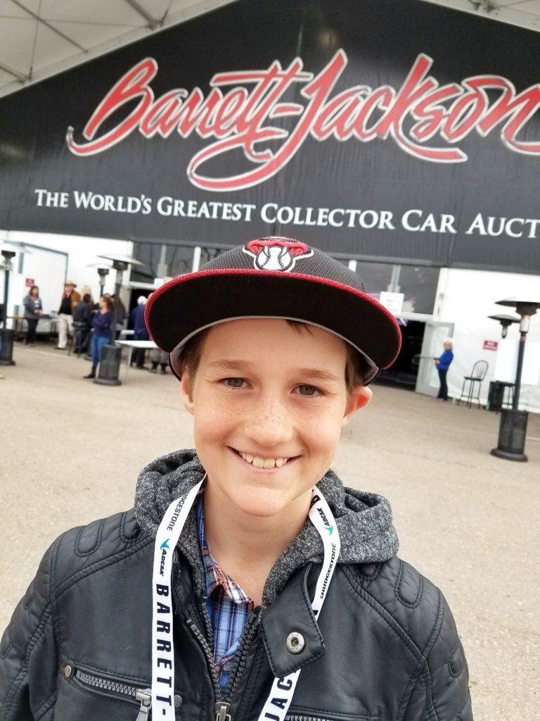 Barrett Jackson car auction