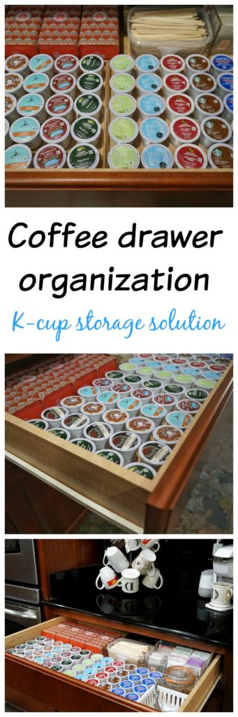 Coffee K-cup storage solution