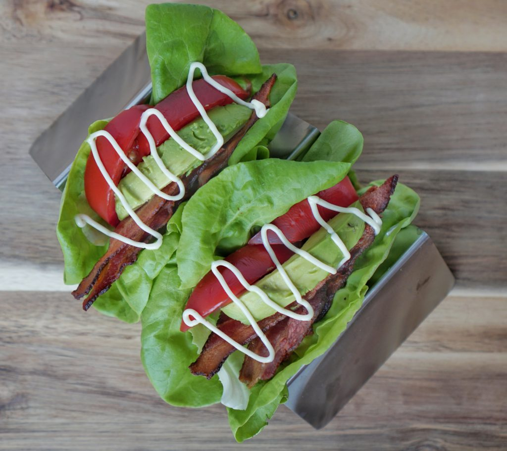 Whole 30 BLT wraps