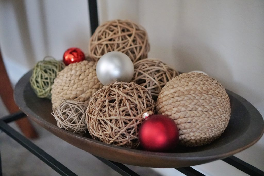 Holiday home tour Christmas accents