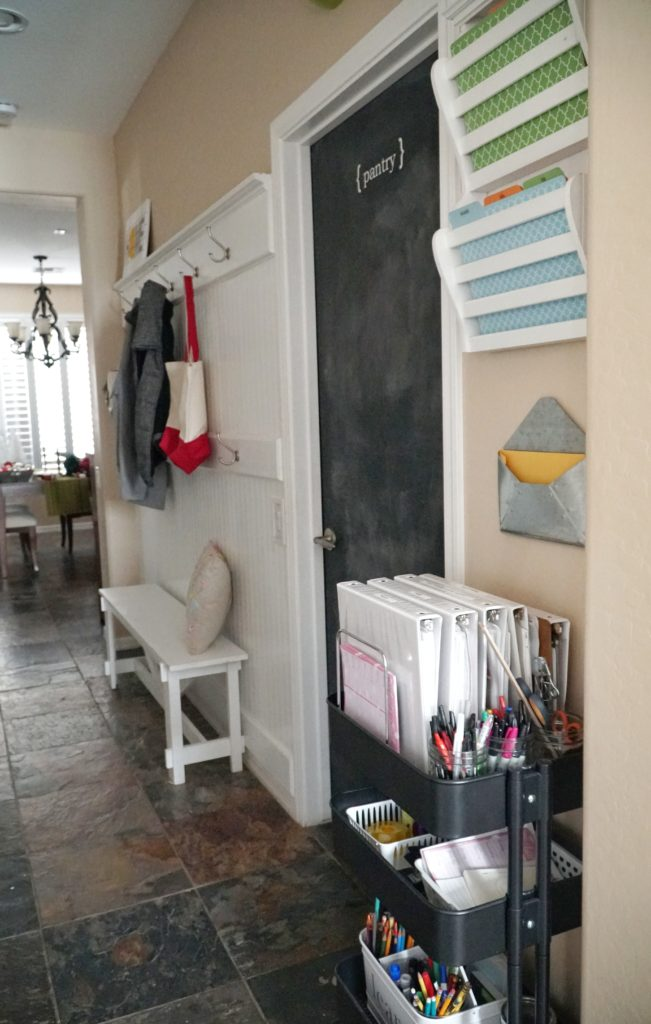 Mudroom command center
