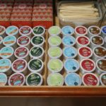 K-Cup Coffee and Tea Drawer Organization
