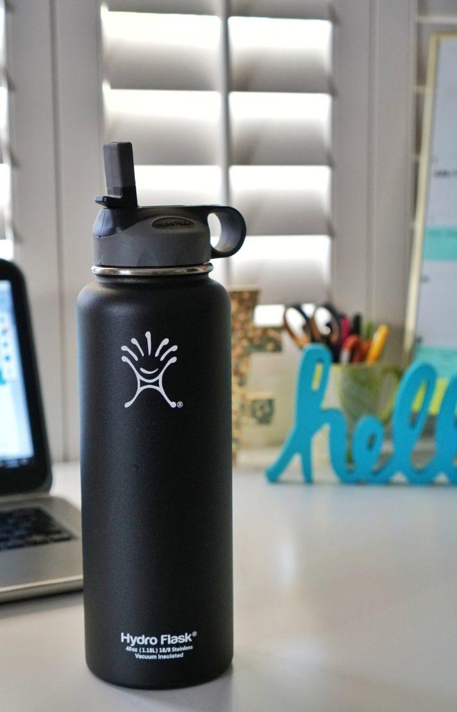 black matte hydro flask