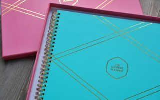 The Content Planner – My Pick for my Blog Planner this Year
