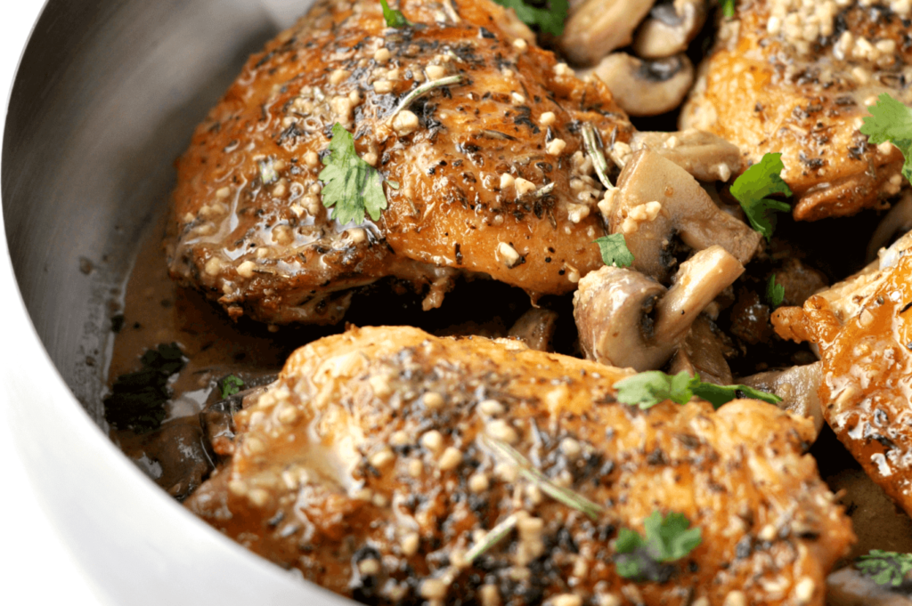 Herbed-Chicken-and-Mushrooms-Peace-Love-and-Low-Carb-