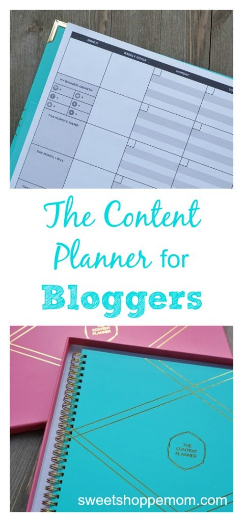 the content planner for bloggers