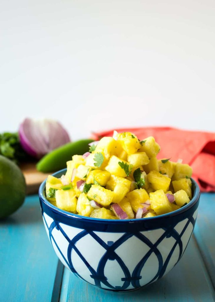 Best Salsa Recipe Beyond the Chicken Coup Pineapple Salsa