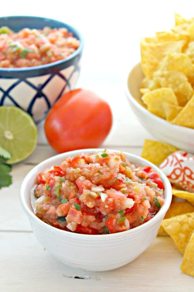 Best Salsa Recipe Beyond the Chicken Coup Traditional Salsa