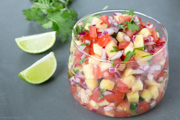 Best Salsa Recipes The Petite Cook Pineapple Salsa
