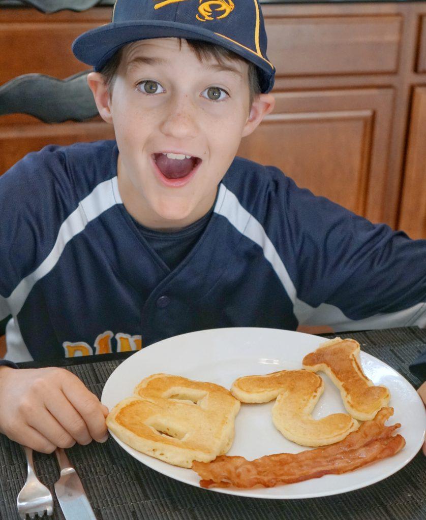 Make Birthdays Extra Special for Teens Breakfast