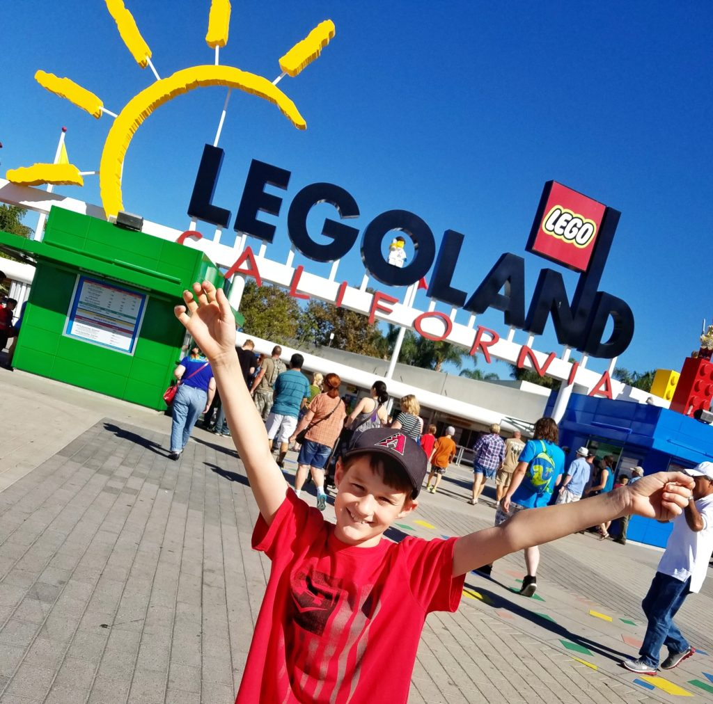Legoland California ticket giveaway