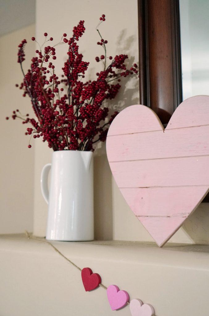 Valentines Day palette heart