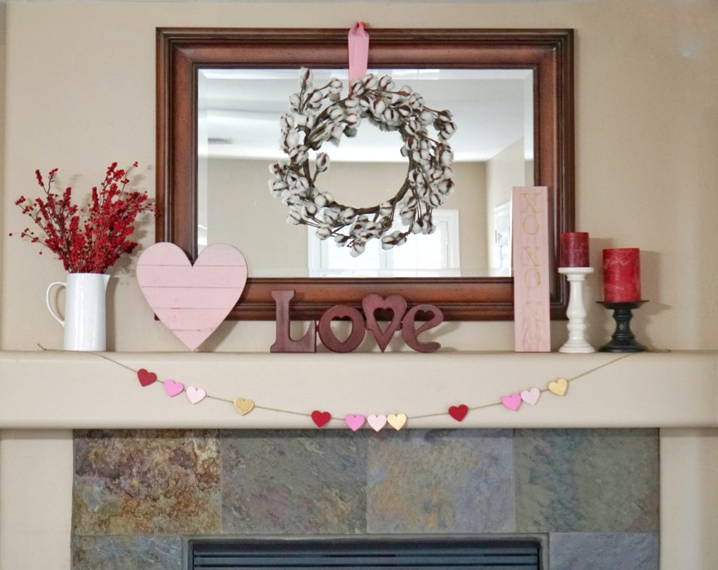 Valentine's Day Decor Home Tour