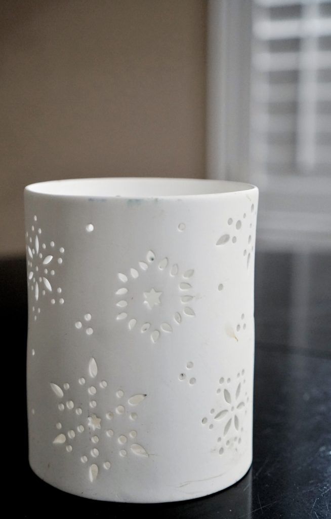 winter home updates candle holders