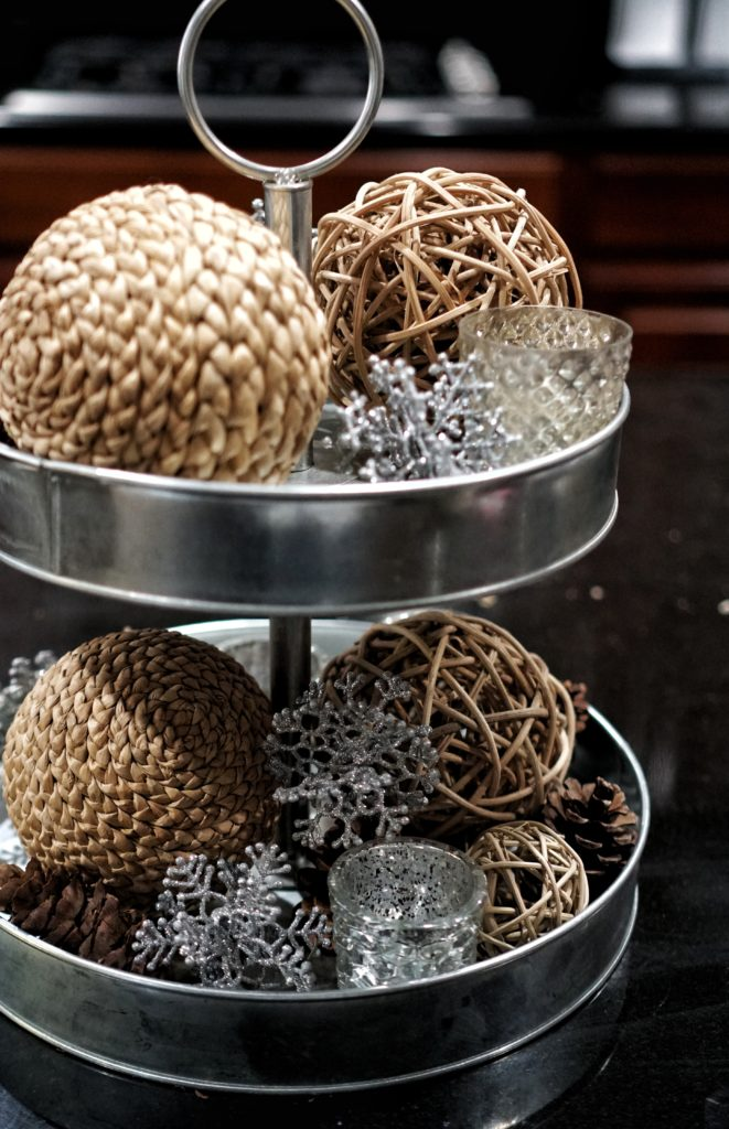 winter home updates centerpiece
