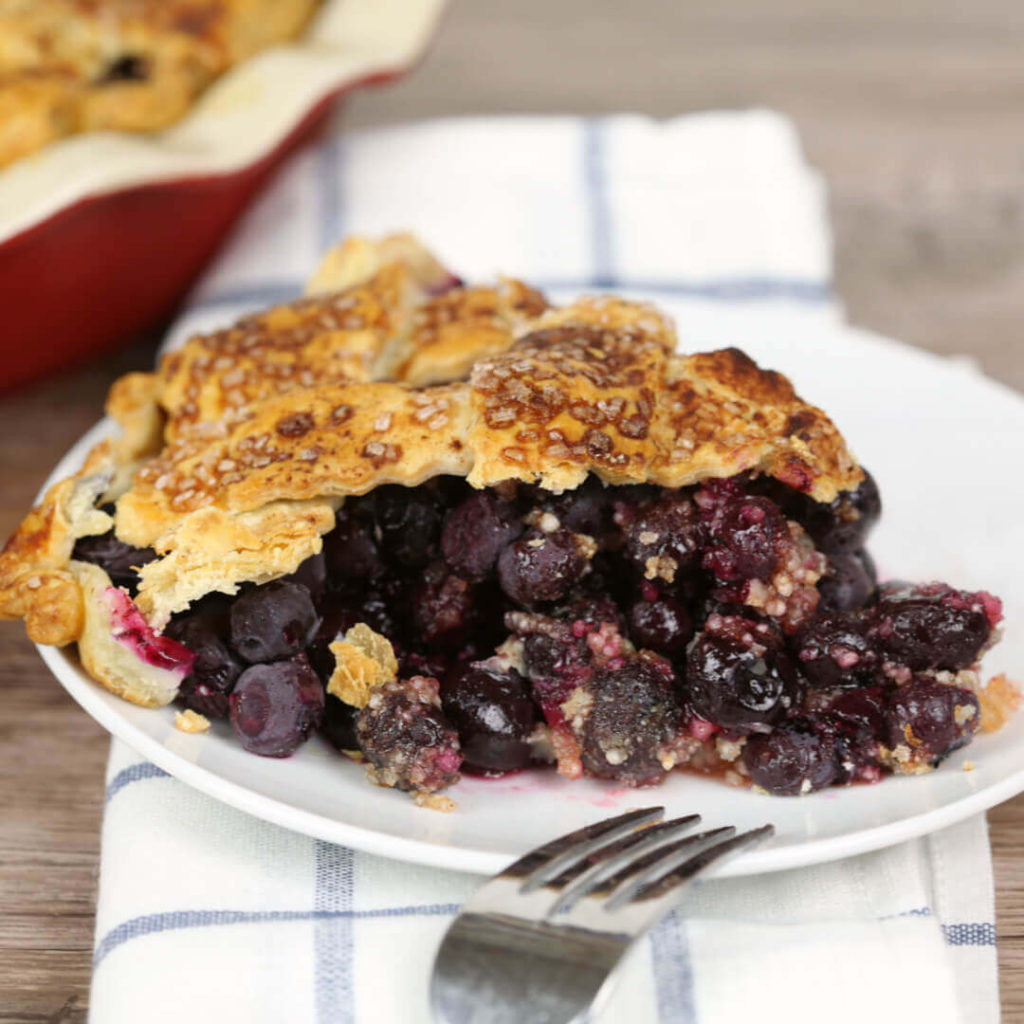 Its a Keeper Blueberry Pie