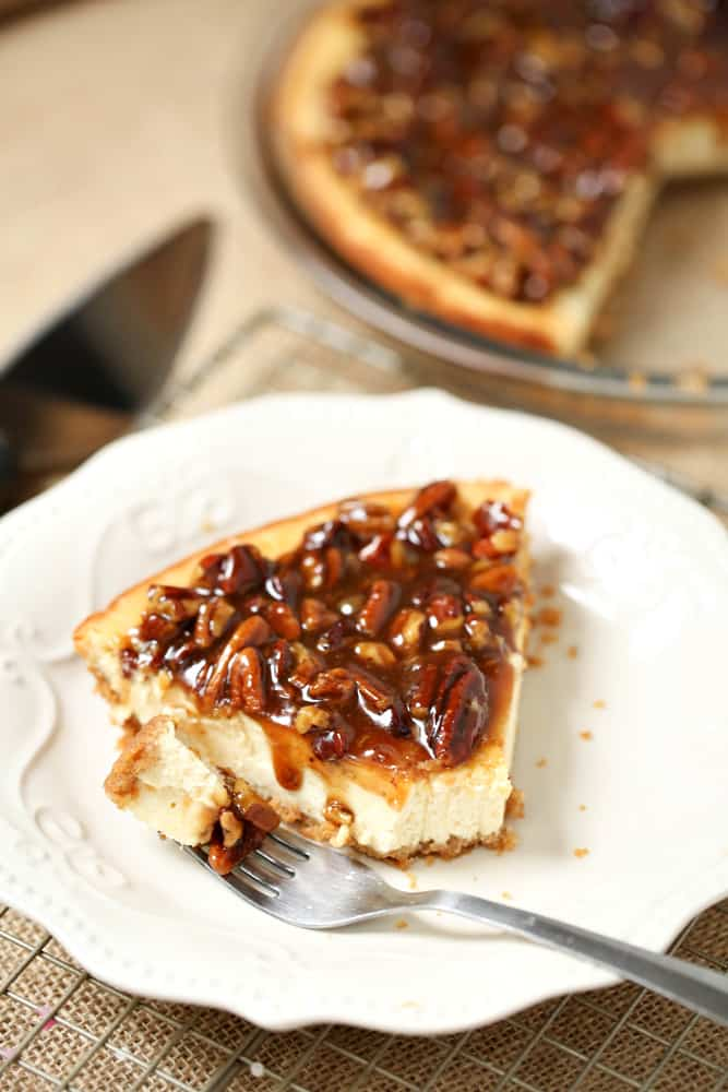 Simple Sweet Recipes Pecan Cheesecake Pie