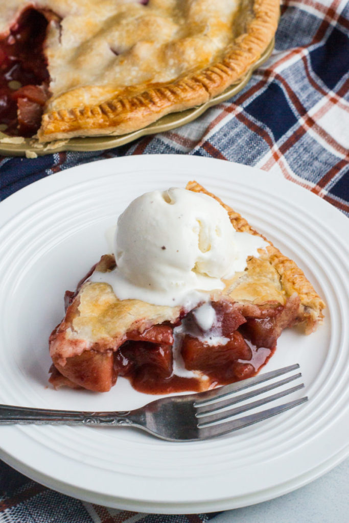 Smart Little Cookie Apple Cranberry Pie