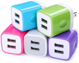USB charging cube