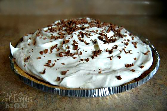 helicopter mom-chocolate-mousse-pie