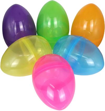 jumbo plastic easter eggs