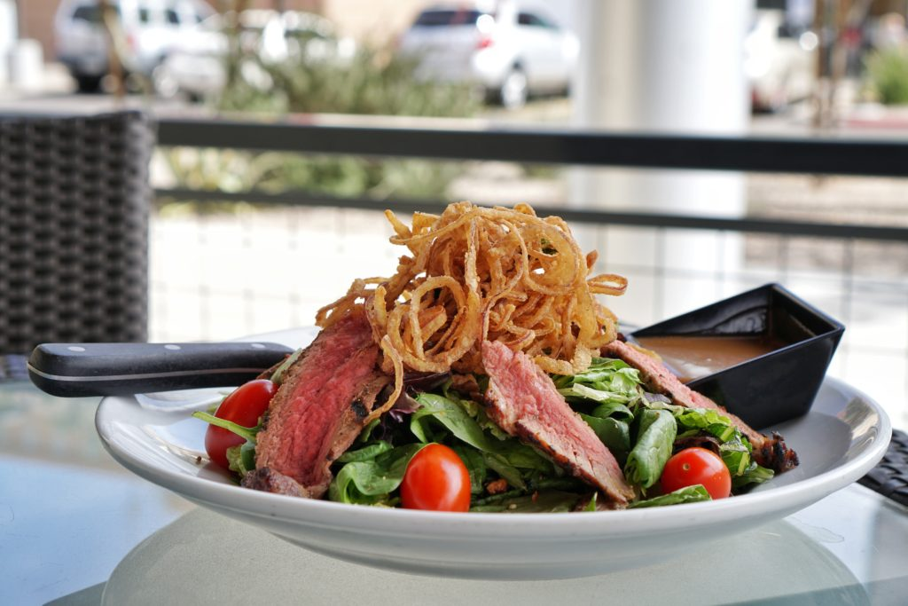 Dave and Busters Steak Salad