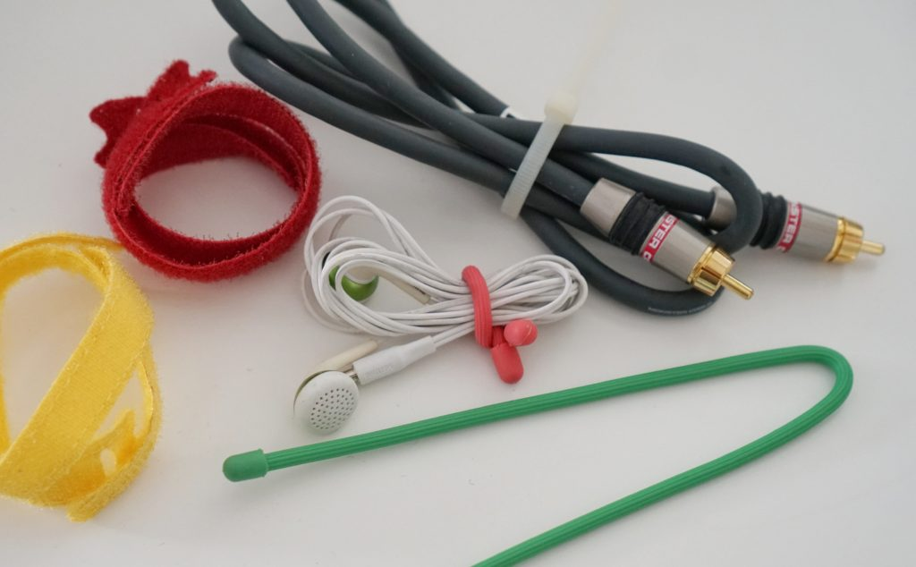 ties for cable organization