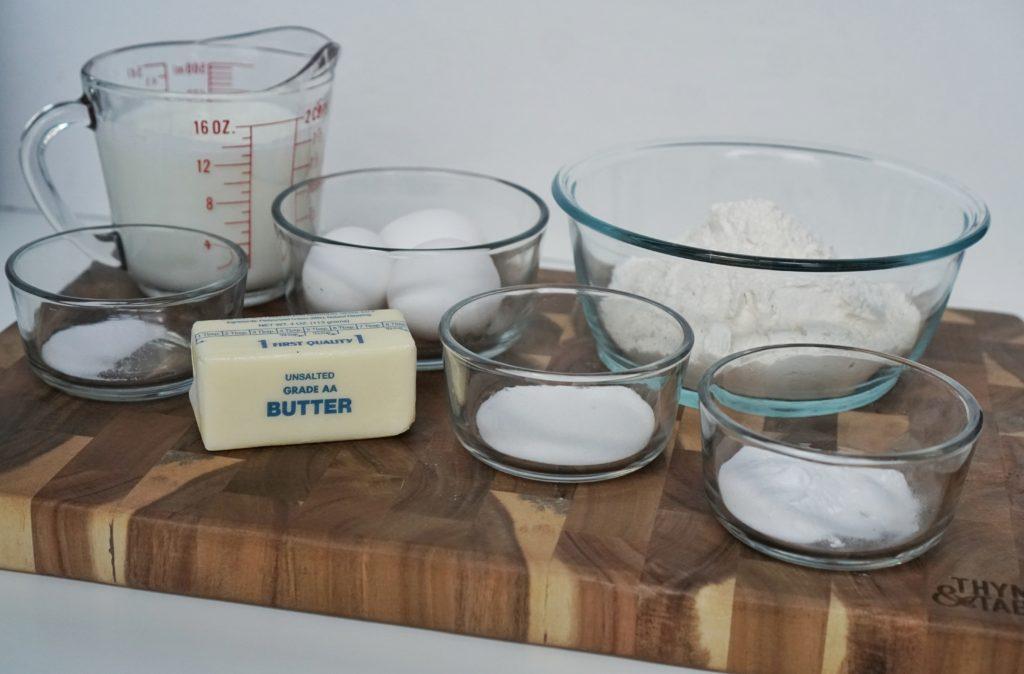 buttermilk waffles ingredients