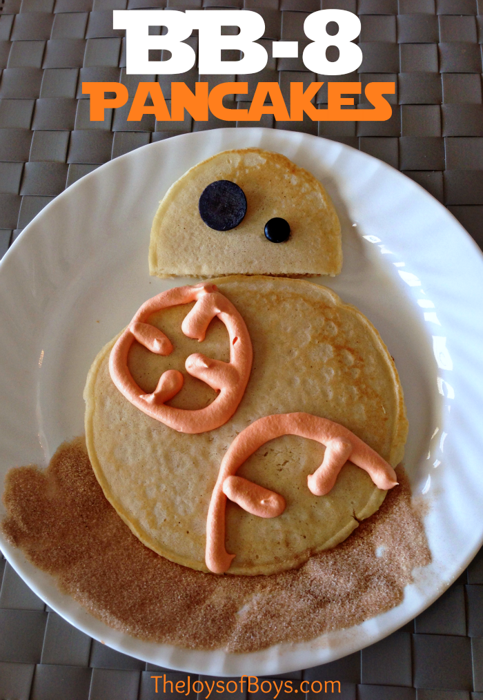 The Joys of Boys BB-8-Pancakes