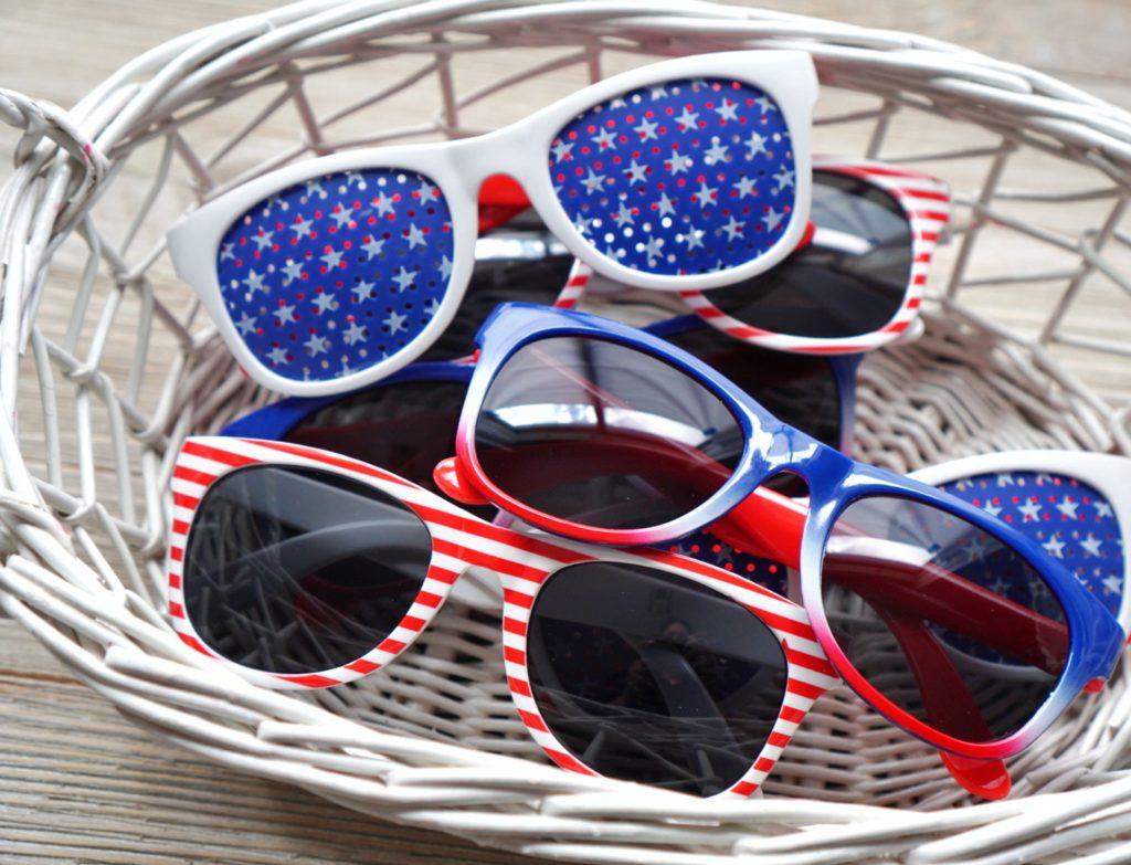 4th of July sunglasses for teens