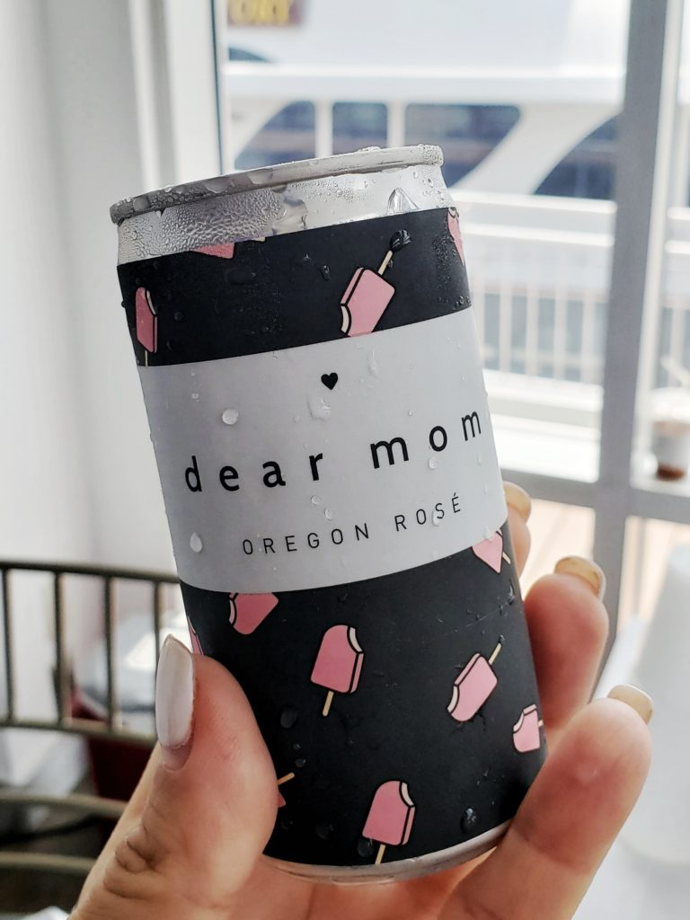 dear mom rose in cans