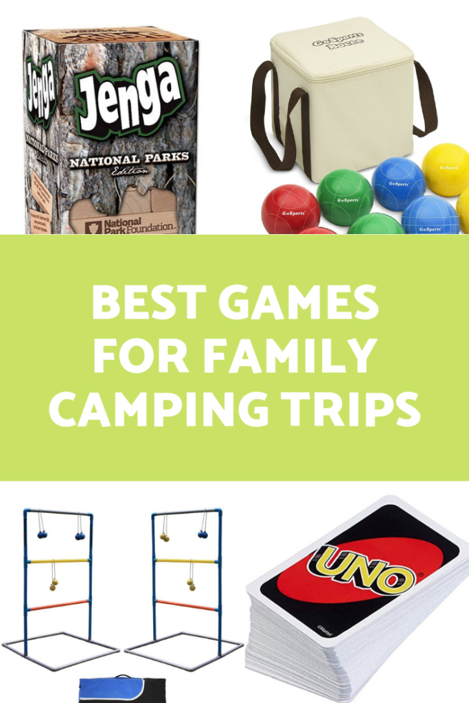 Best Games for Family Camping Trips