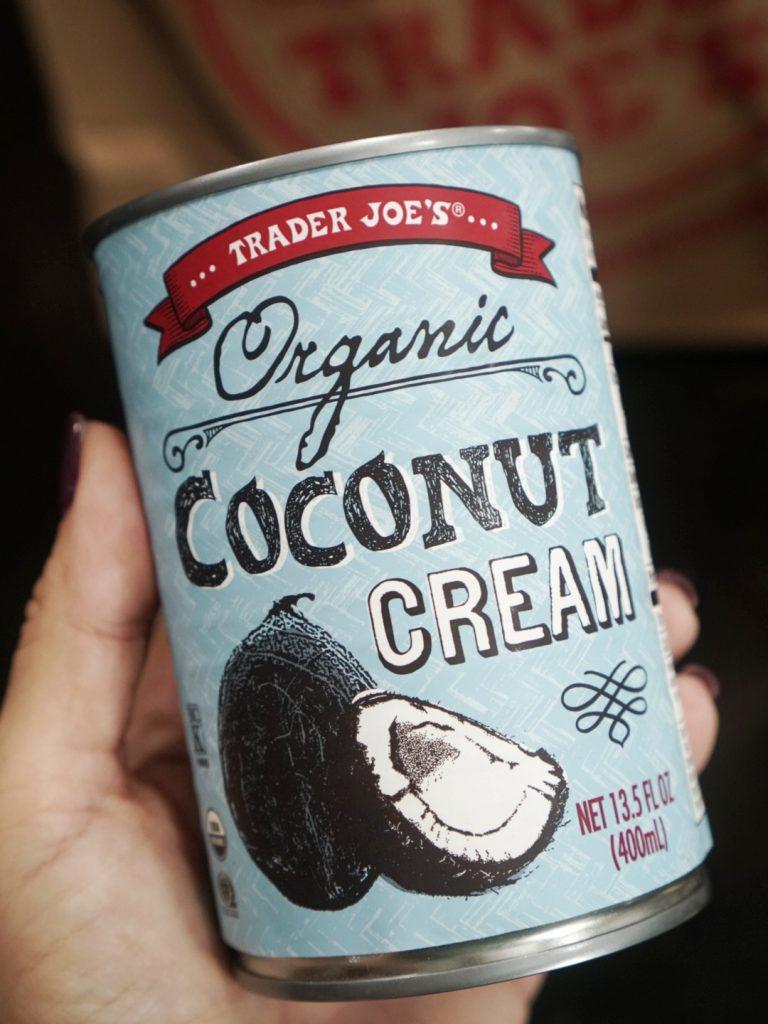 coconut cream keto trader joes