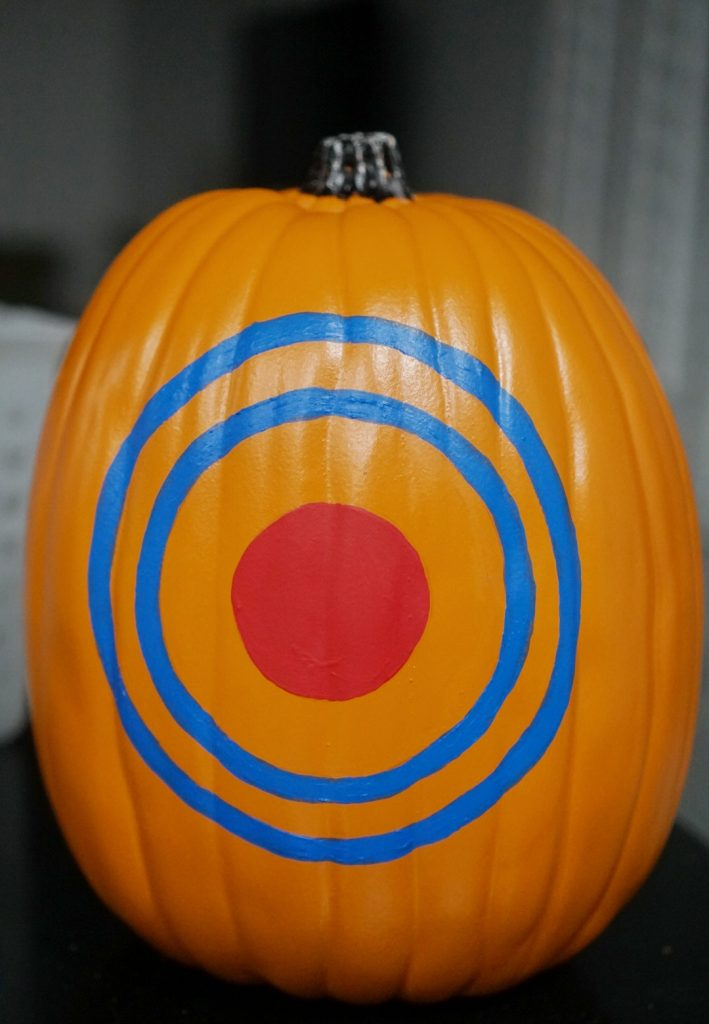 Nerf blaster pumpkin DIY tutorial