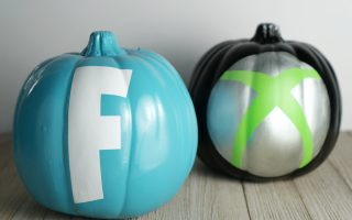 Easy No-carve Fortnite Xbox Pumpkin For Your Gamer Kids