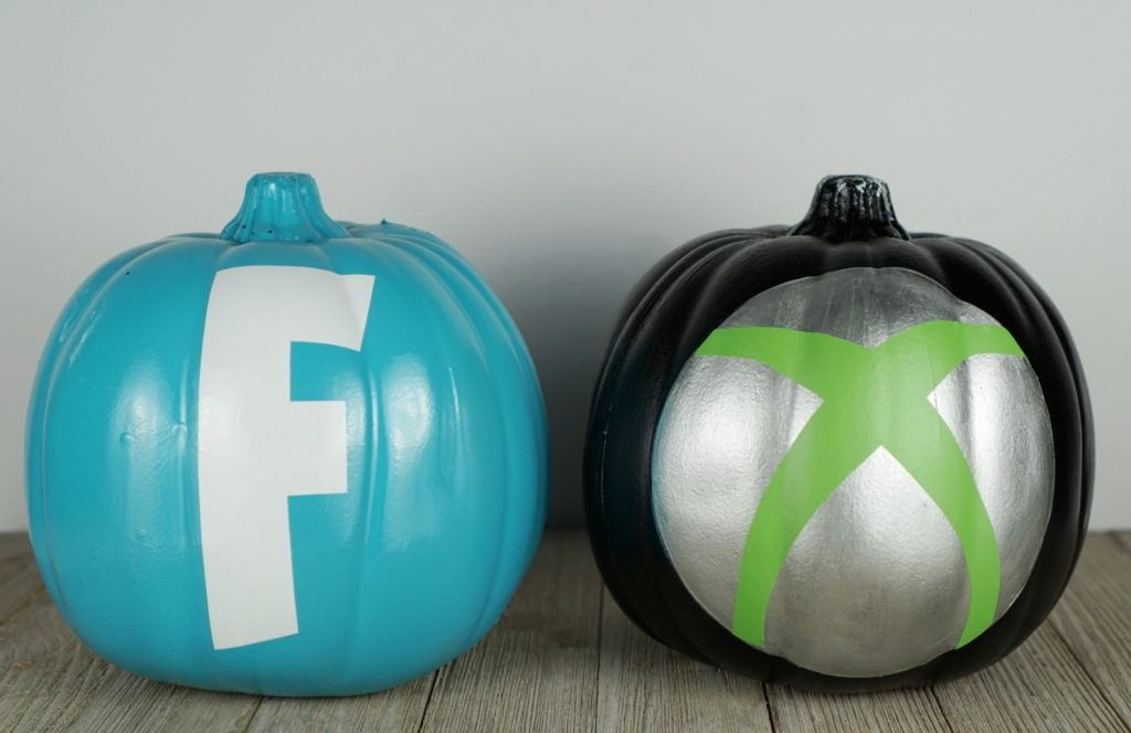 Fornite Halloween Pumpkin DIY