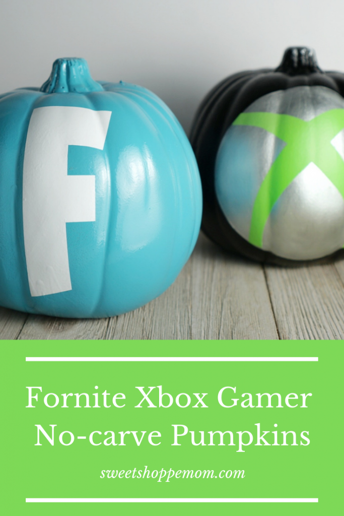 Fornite Xbox no-carve Pumpkin