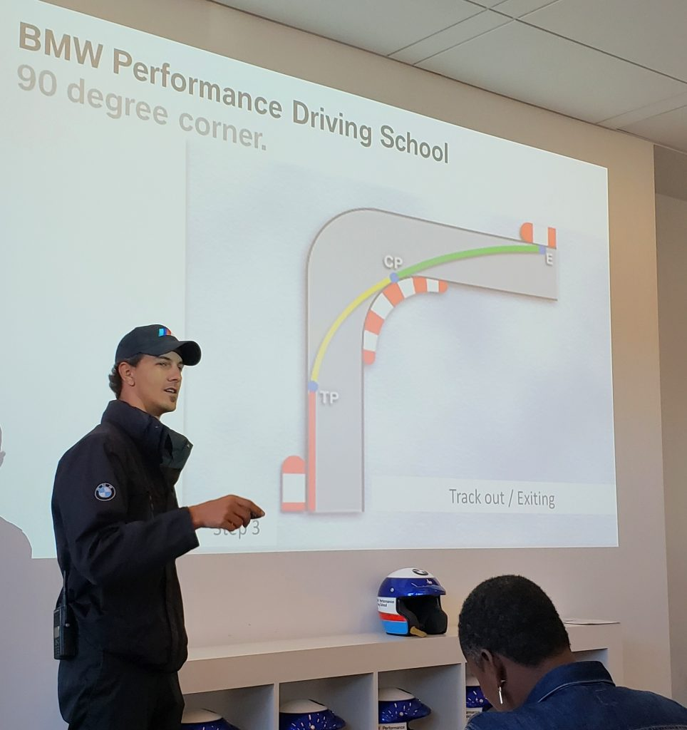BMW performance center classroom