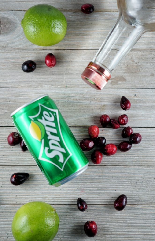 Cranberry Vodka Lime Cocktail