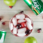 Cranberry Lime Spritz Holiday Cocktail