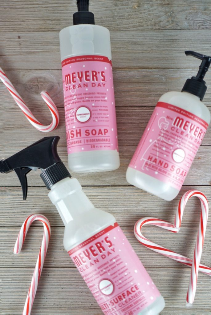 Peppermint Mrs Meyers soaps