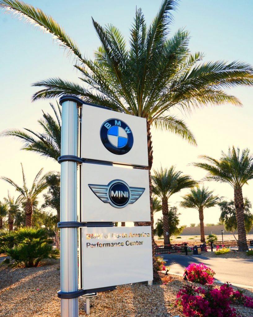 BMW Performance Center Palm Springs CA