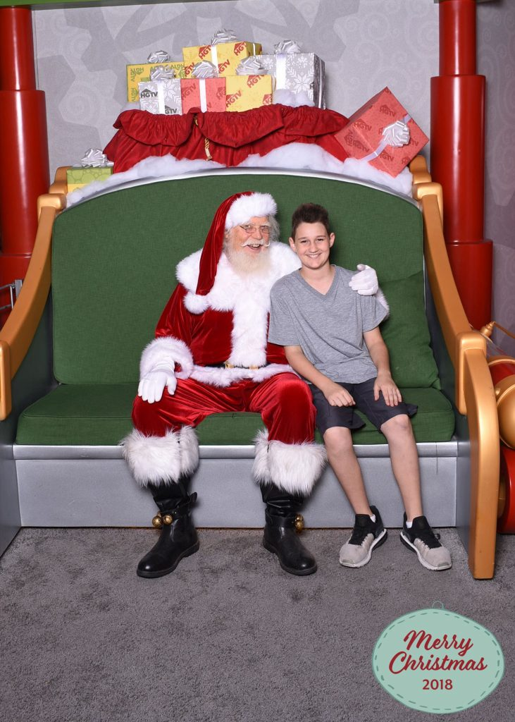 Photos with Santa 2018 Chandler AZ