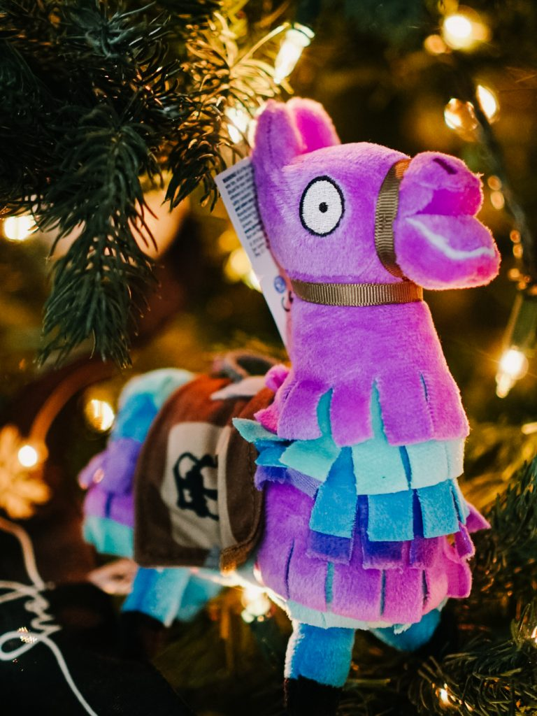 Fortnite Holiday Gift Guide plush llama