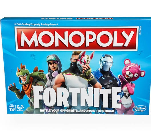 Fortnite Holiday Gift Guide Monopoly