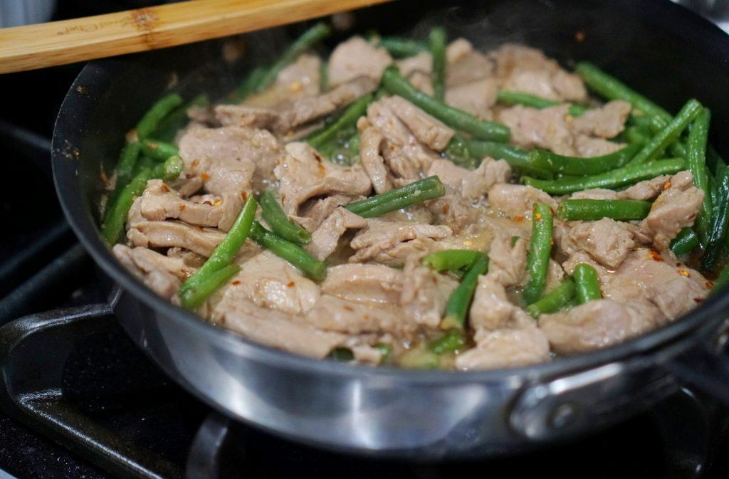 quick and easy pork tenderloin stir fry